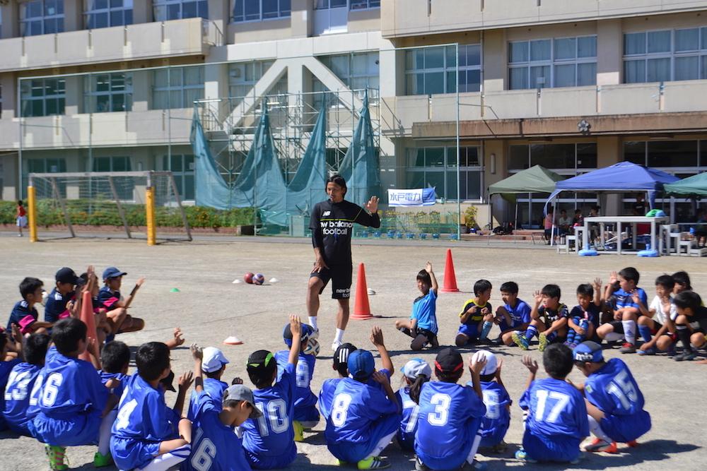 9/3(土)水戸電力サッカー教室を開催しました(石川SSS)_01