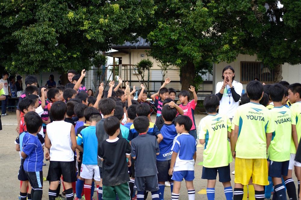 9/4(日)水戸電力サッカー教室を開催しました(吉田SSS)_01