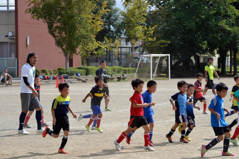 9/4(日)水戸電力サッカー教室を開催しました(吉田SSS)_02