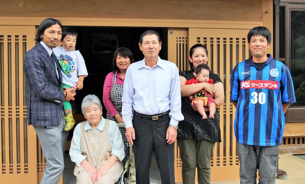 鈴木隆行さんがご家庭を訪問しました。
